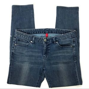 """Uniqlo Skinny Tapered Mid Rise Jeans Sz 10 Ins 27"""""""